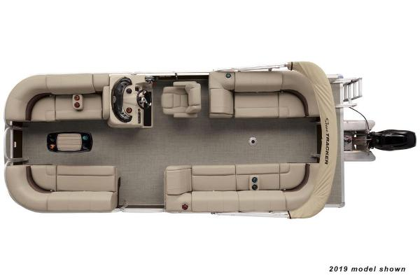 2022 Sun Tracker boat for sale, model of the boat is Party Barge 22 DLX & Image # 3 of 4