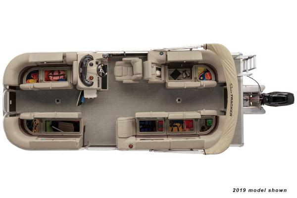 2022 Sun Tracker boat for sale, model of the boat is Party Barge 22 DLX & Image # 4 of 4