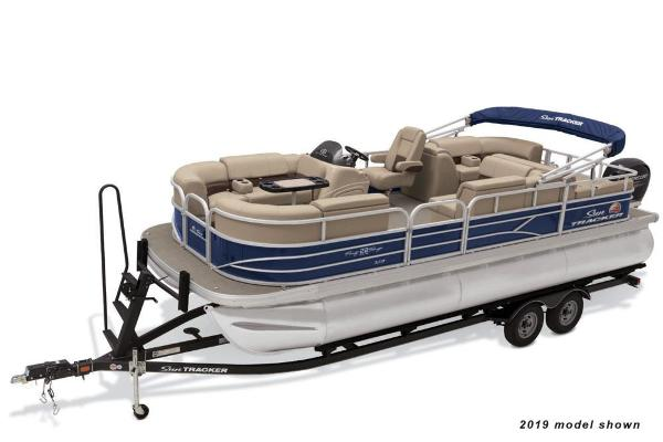 2021 Sun Tracker boat for sale, model of the boat is Party Barge 22 RF XP3 & Image # 1 of 3