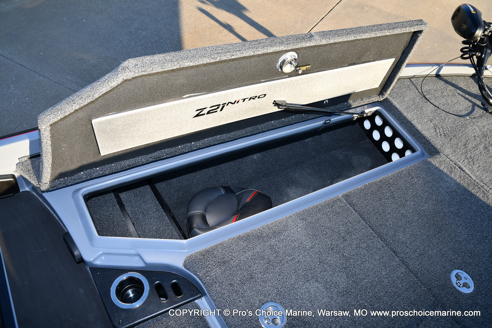 2021 Nitro boat for sale, model of the boat is Z21 Pro Package & Image # 14 of 50