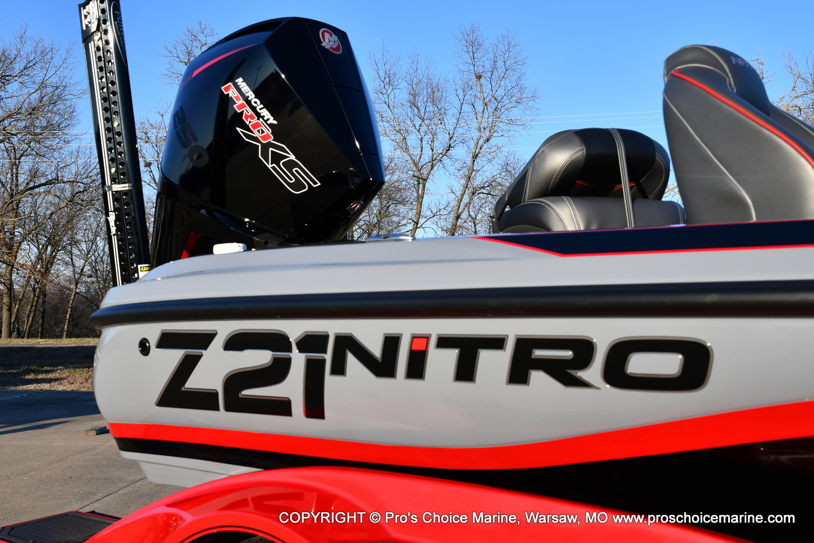 2021 Nitro boat for sale, model of the boat is Z21 Pro Package & Image # 34 of 50