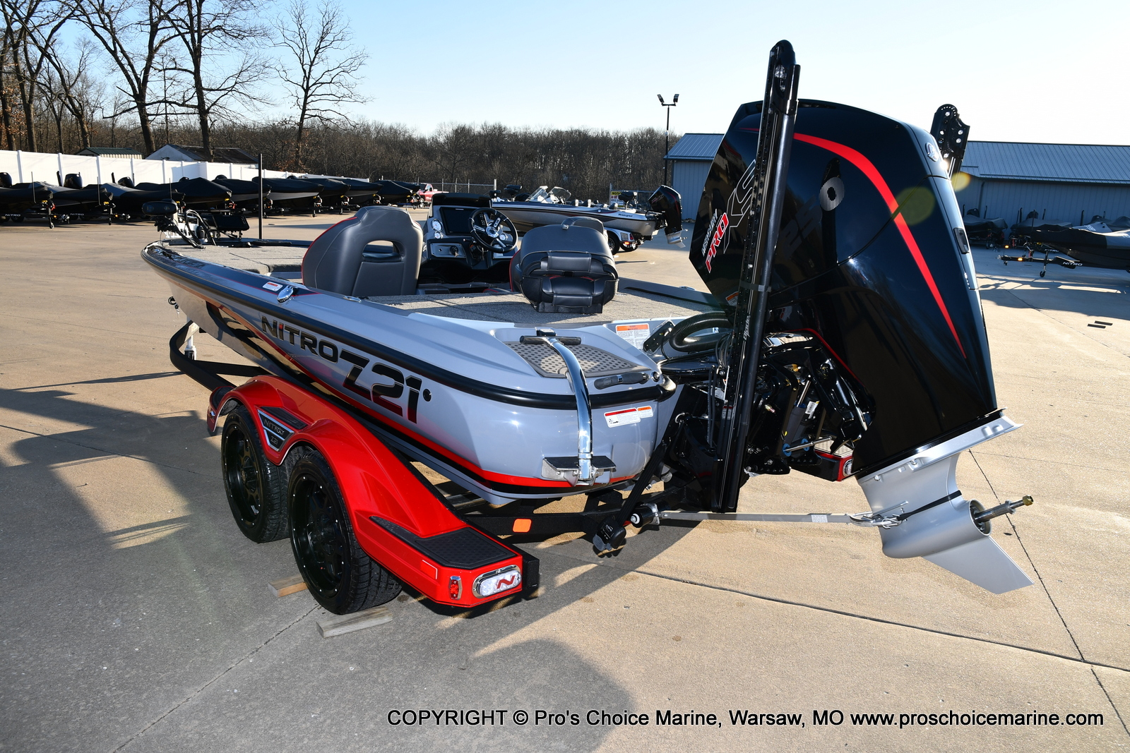 2021 Nitro boat for sale, model of the boat is Z21 Pro Package & Image # 42 of 50