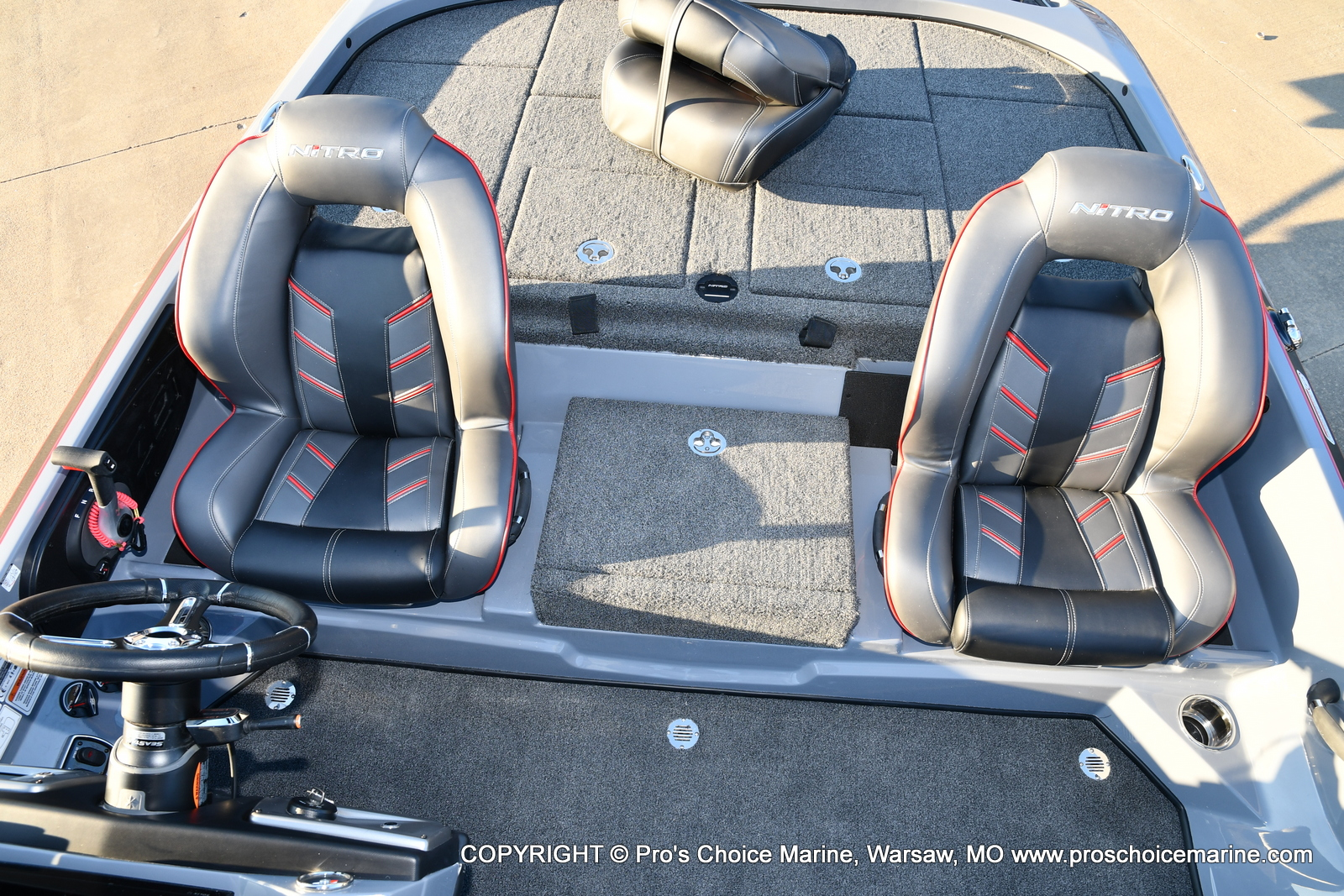2021 Nitro boat for sale, model of the boat is Z21 Pro Package & Image # 46 of 50