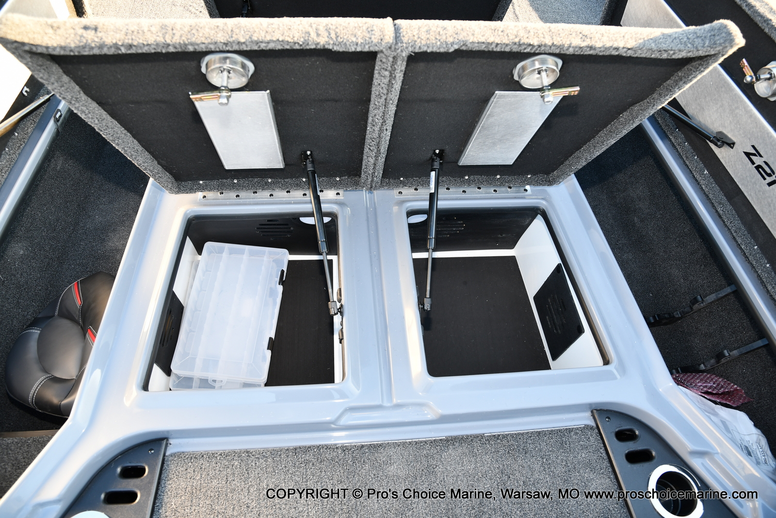 2021 Nitro boat for sale, model of the boat is Z21 Pro Package & Image # 49 of 50