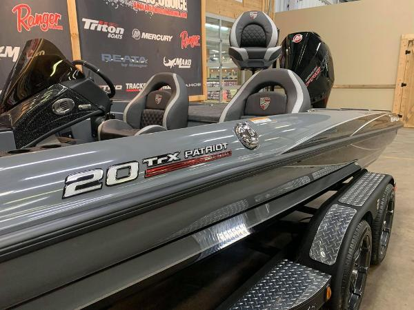 2021 Triton boat for sale, model of the boat is 20 TRX Patriot & Image # 10 of 17