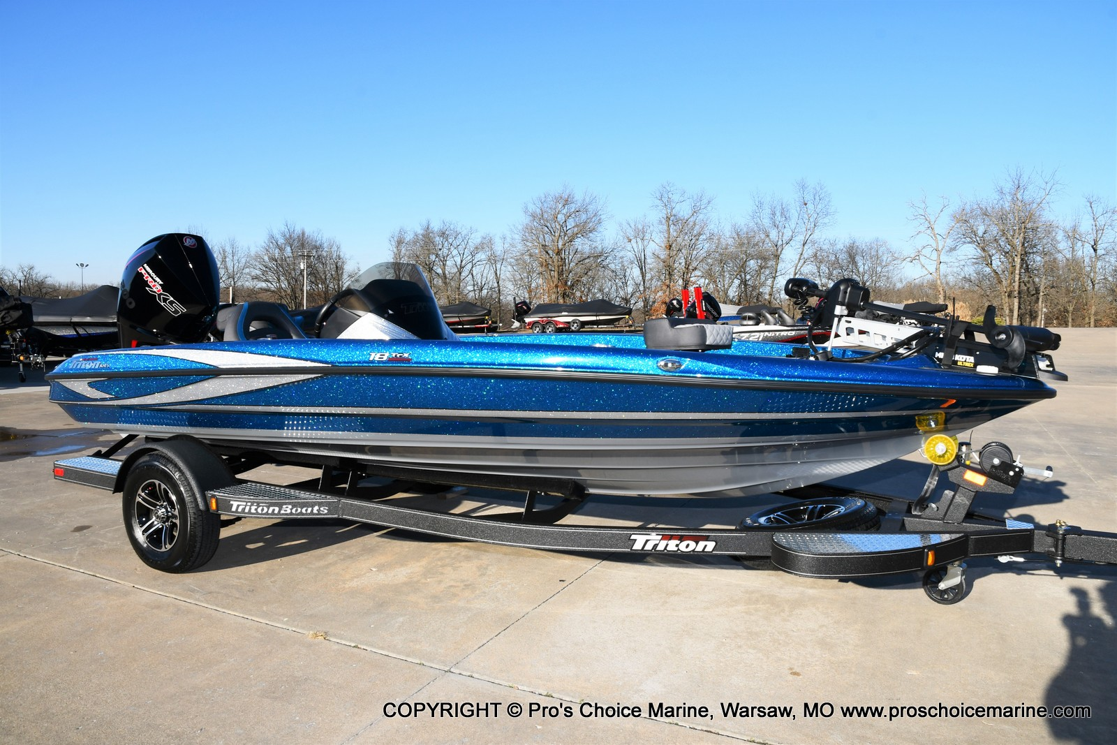 2021 Triton boat for sale, model of the boat is 18 TRX & Image # 1 of 50
