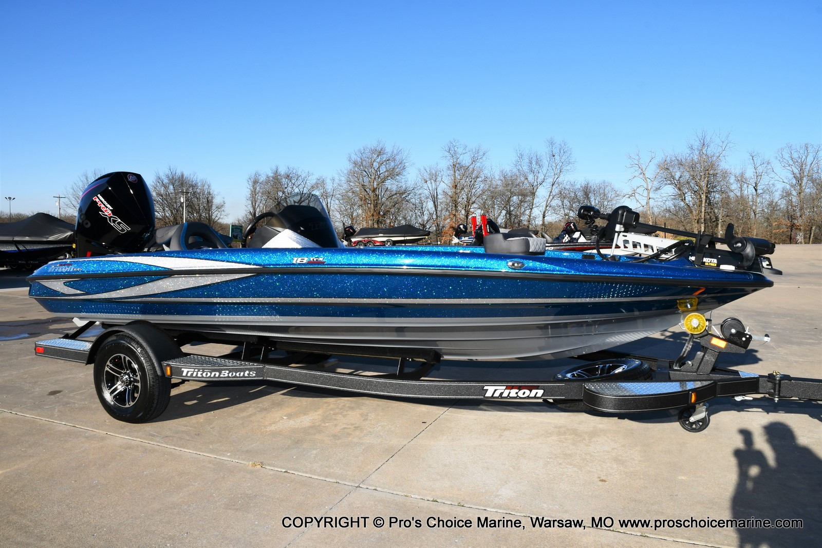 2021 Triton boat for sale, model of the boat is 18 TRX & Image # 2 of 50