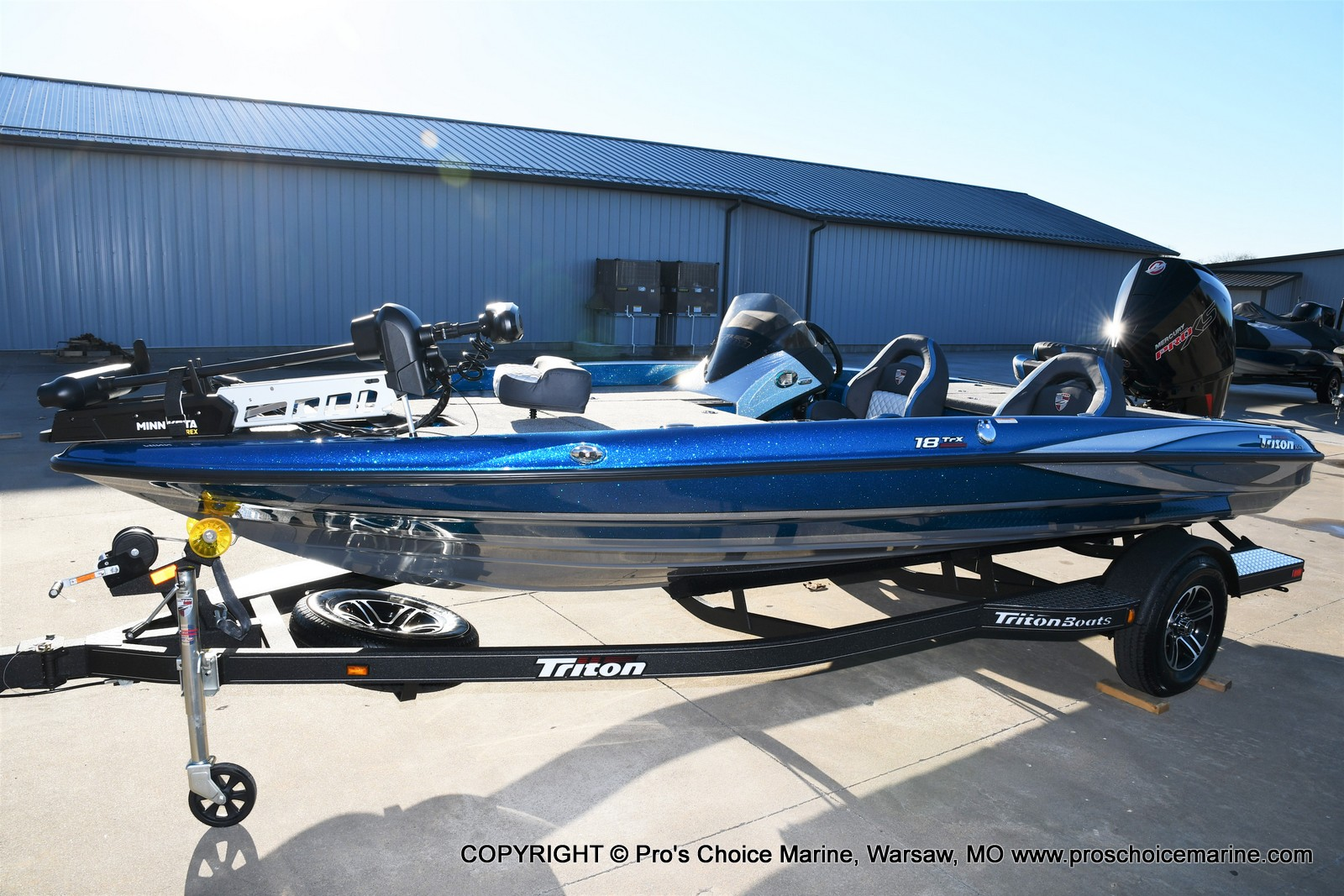 2021 Triton boat for sale, model of the boat is 18 TRX & Image # 4 of 50