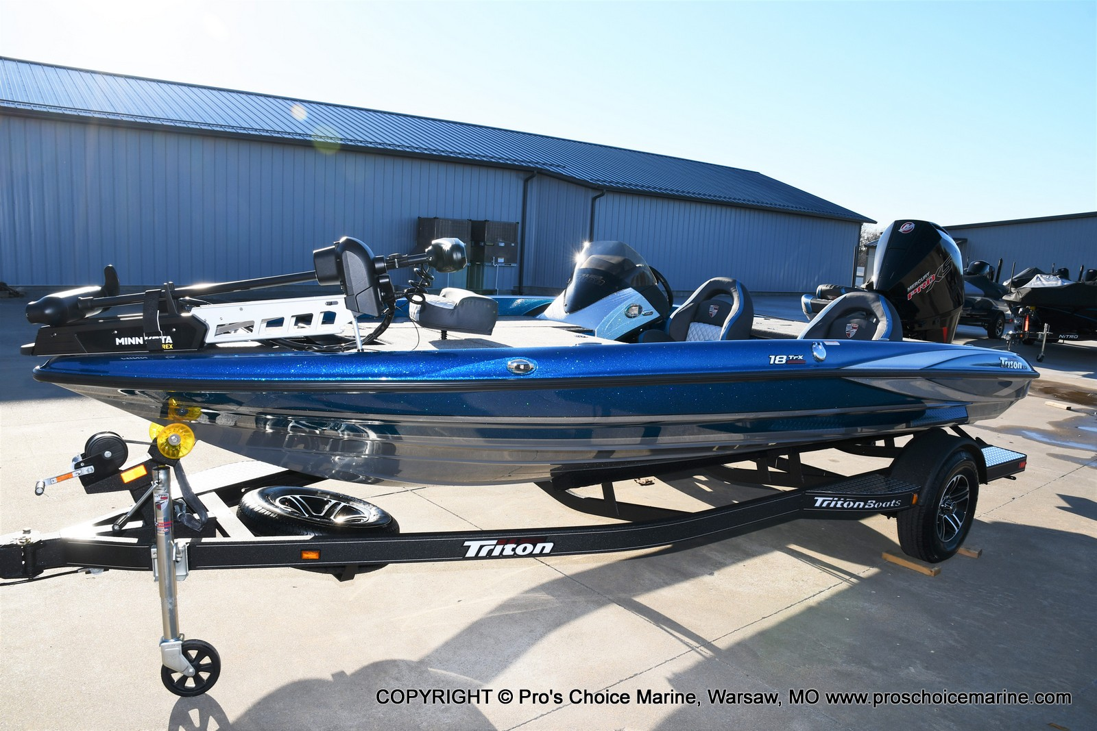 2021 Triton boat for sale, model of the boat is 18 TRX & Image # 41 of 50