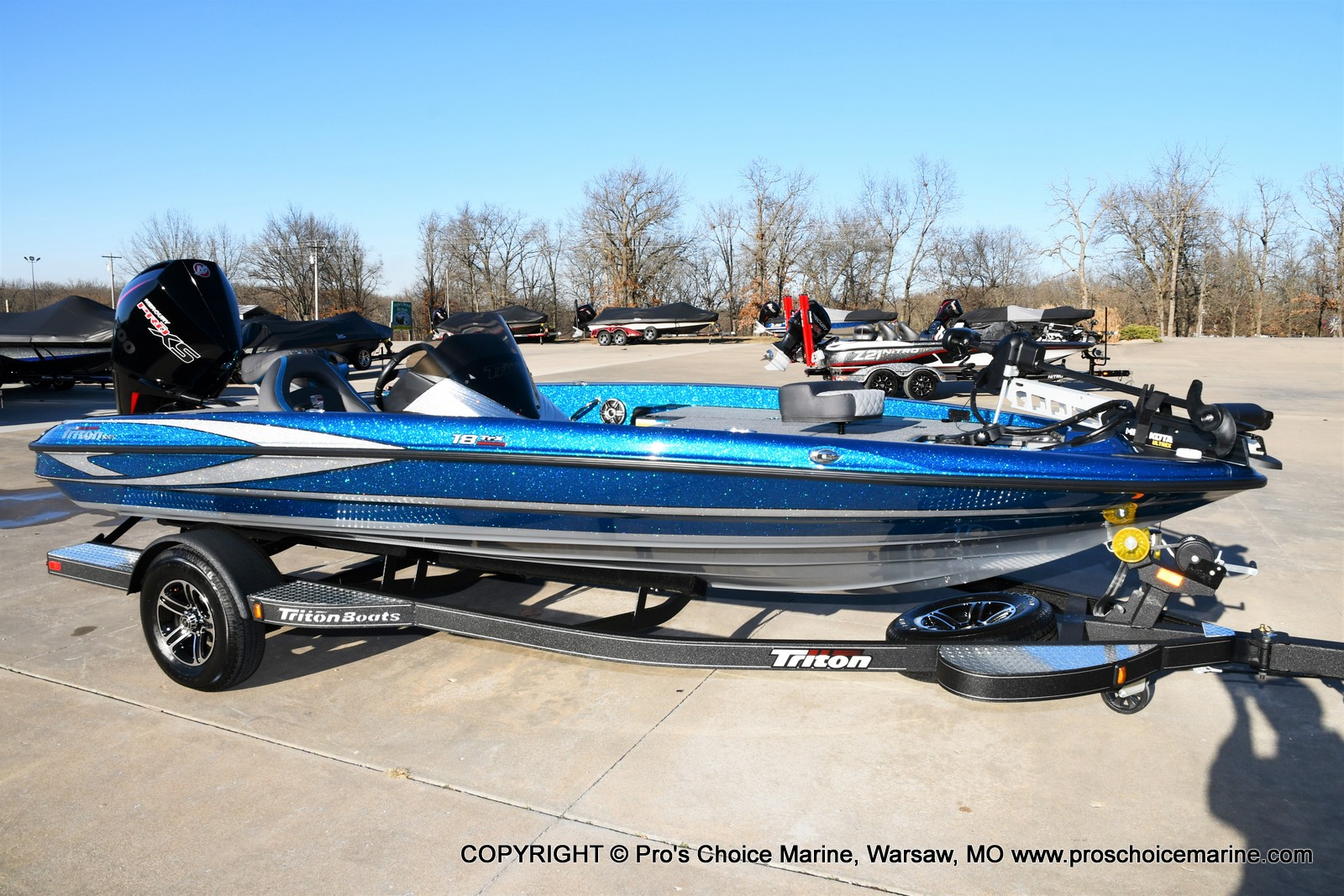 2021 Triton boat for sale, model of the boat is 18 TRX & Image # 28 of 50