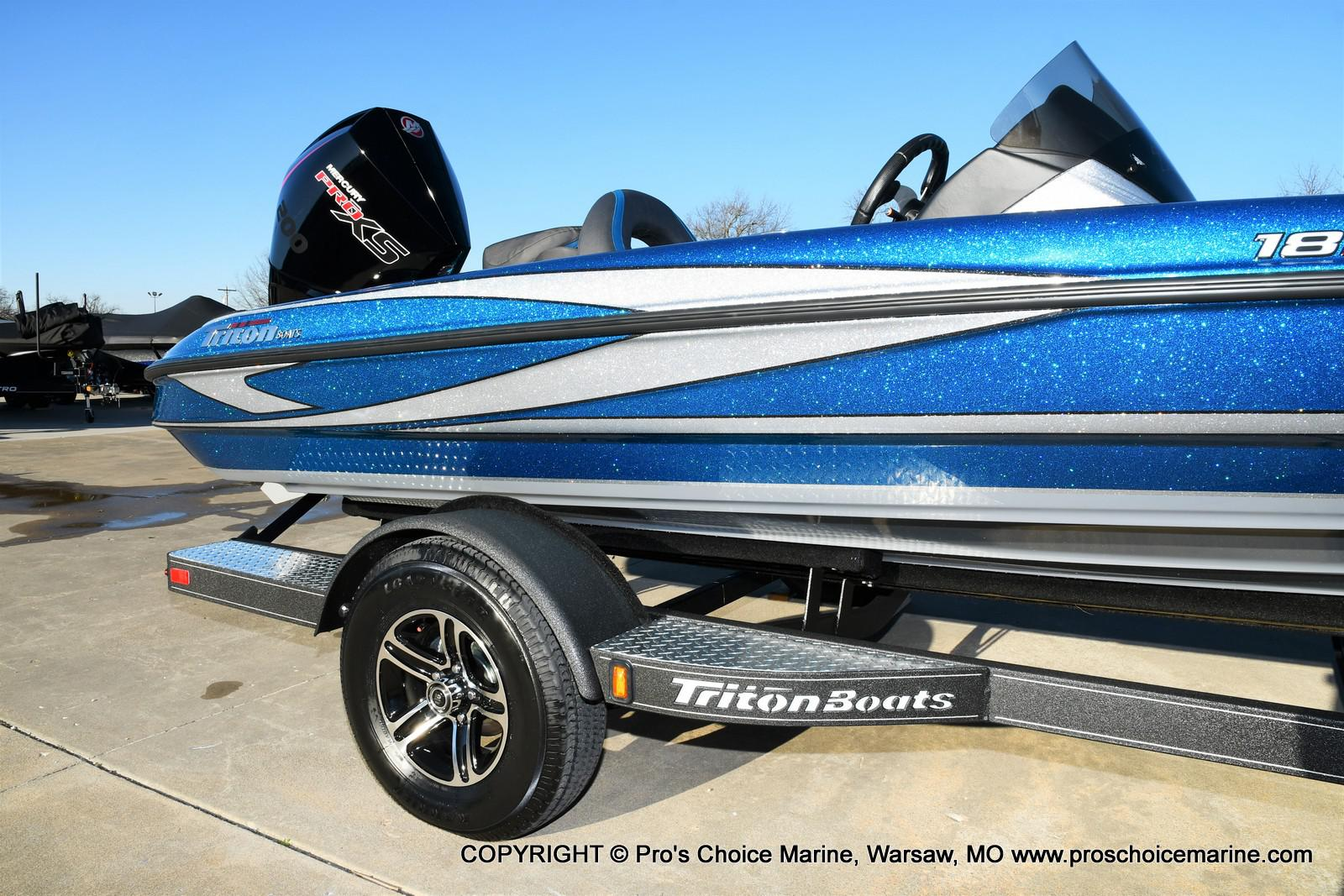 2021 Triton boat for sale, model of the boat is 18 TRX & Image # 14 of 50