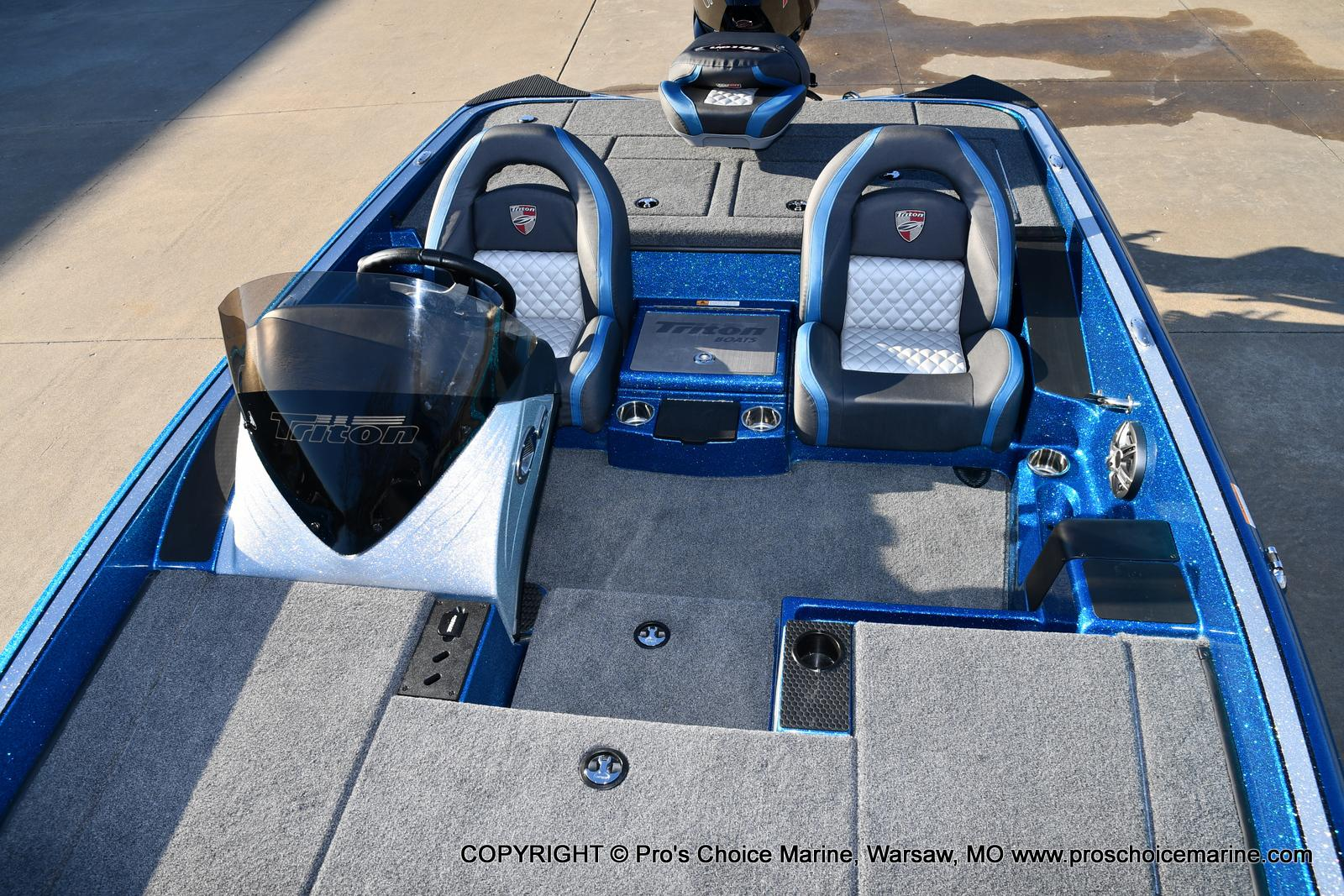 2021 Triton boat for sale, model of the boat is 18 TRX & Image # 21 of 50