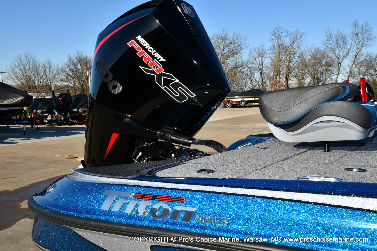 2021 Triton boat for sale, model of the boat is 18 TRX & Image # 3 of 50