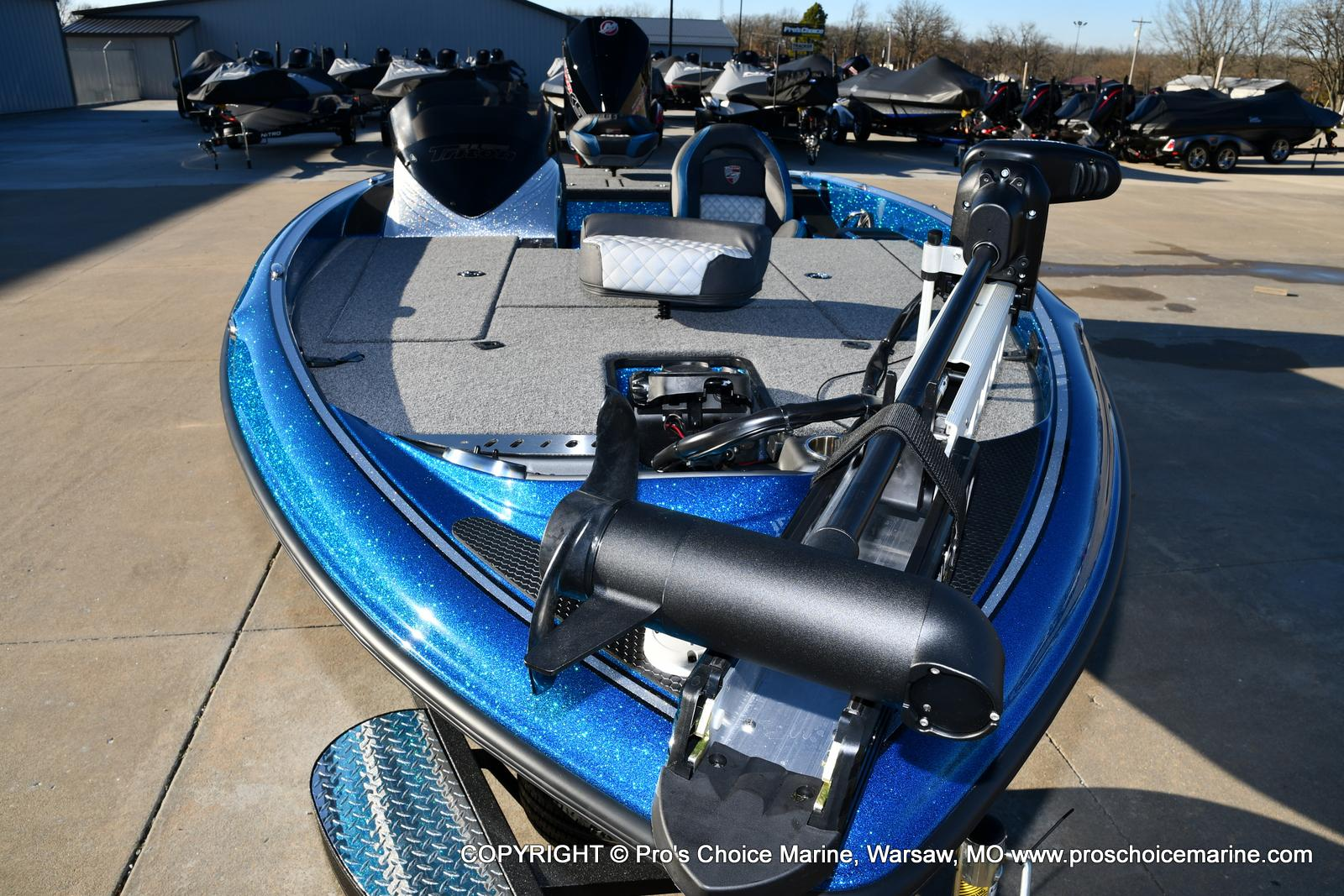 2021 Triton boat for sale, model of the boat is 18 TRX & Image # 30 of 50