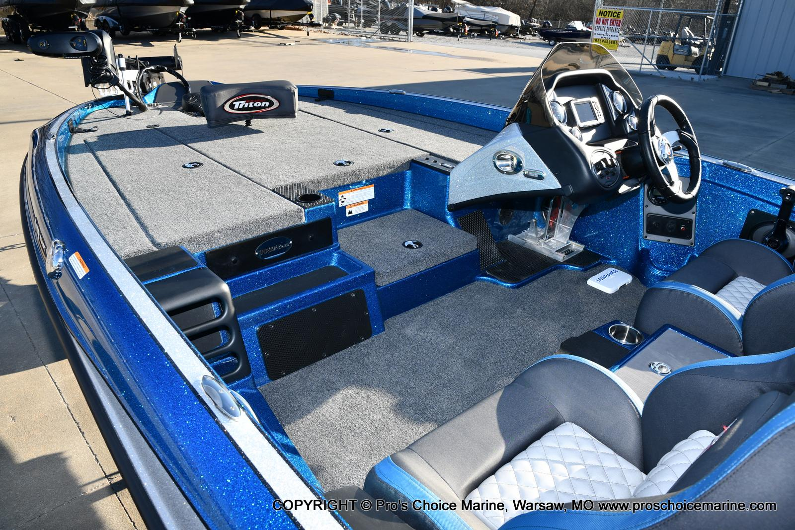 2021 Triton boat for sale, model of the boat is 18 TRX & Image # 33 of 50