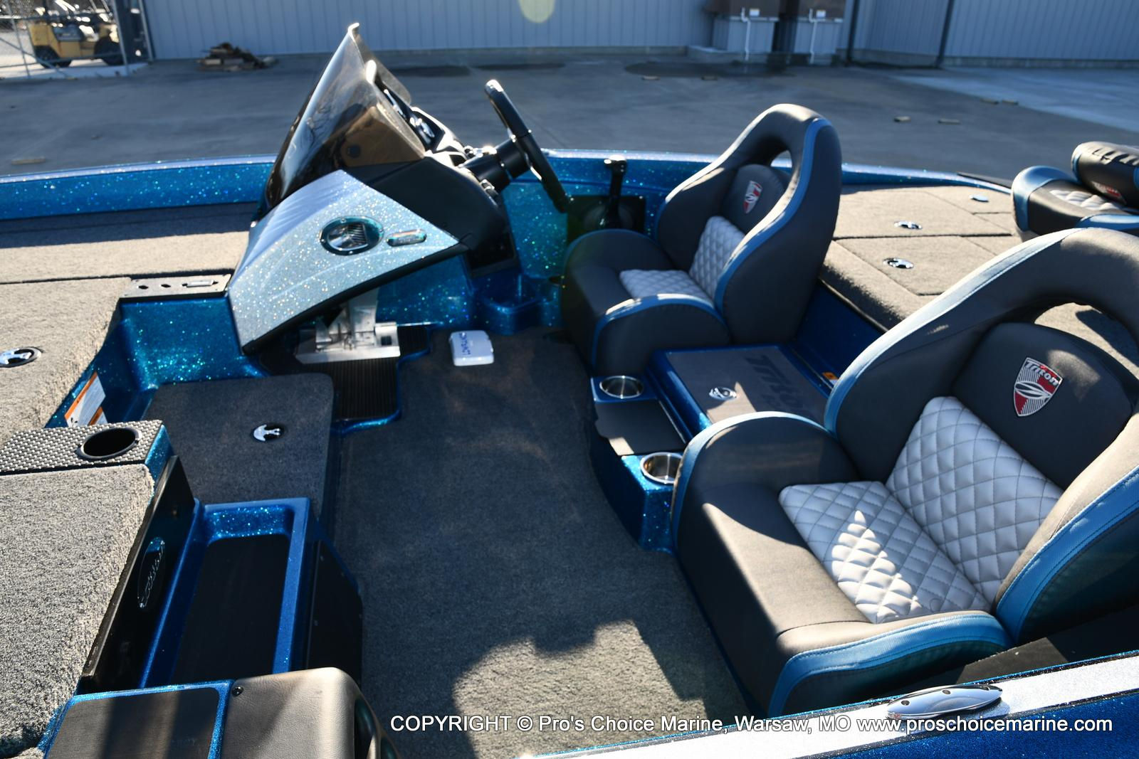 2021 Triton boat for sale, model of the boat is 18 TRX & Image # 34 of 50