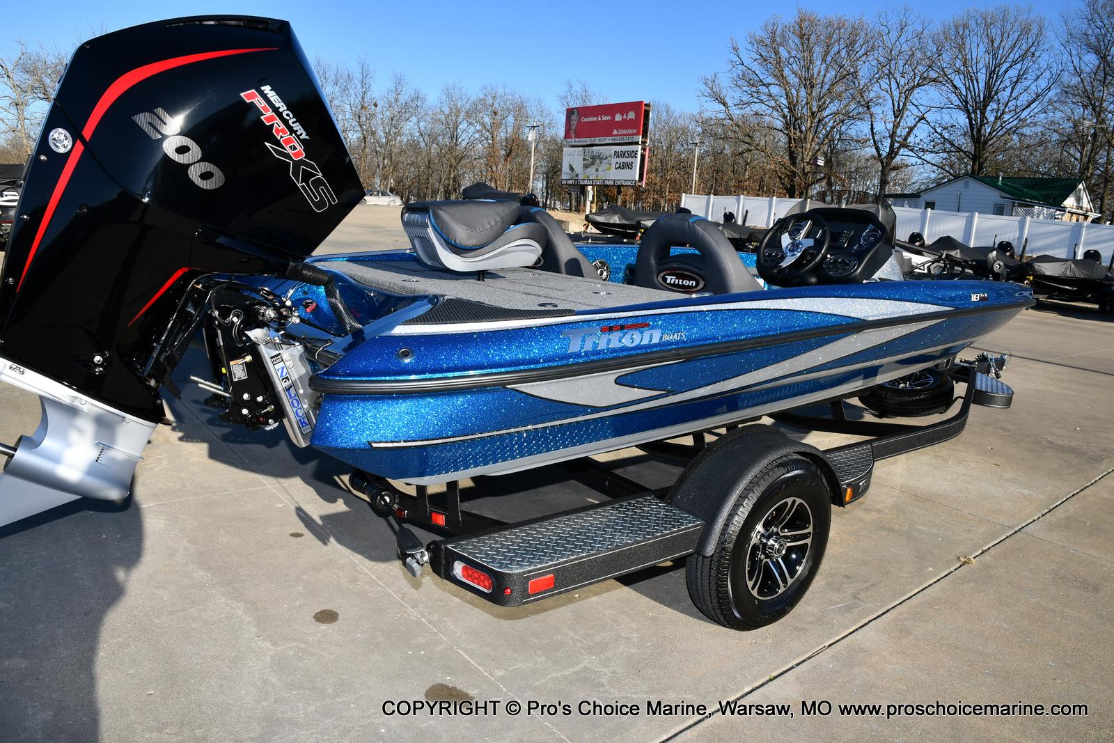 2021 Triton boat for sale, model of the boat is 18 TRX & Image # 39 of 50