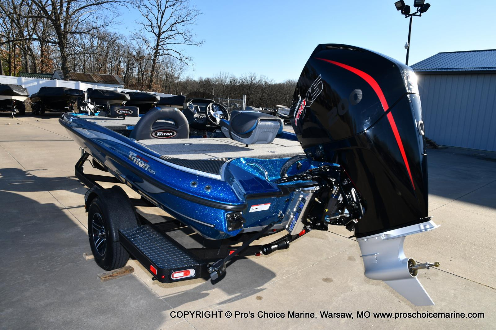 2021 Triton boat for sale, model of the boat is 18 TRX & Image # 40 of 50