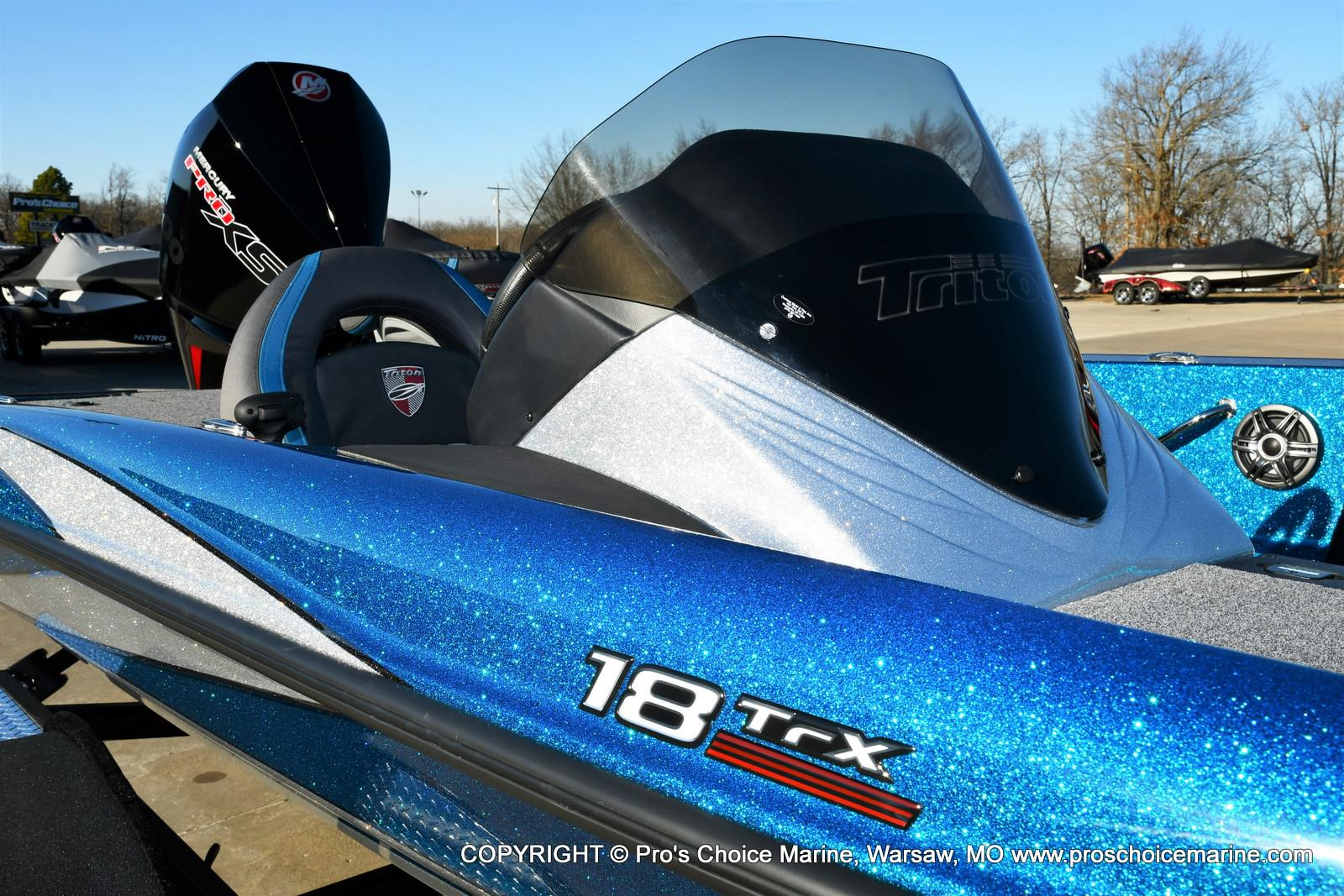2021 Triton boat for sale, model of the boat is 18 TRX & Image # 49 of 50