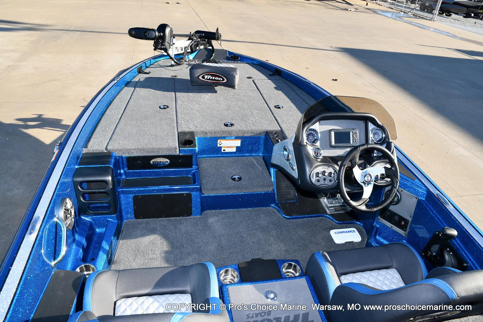 2021 Triton boat for sale, model of the boat is 18 TRX & Image # 6 of 50