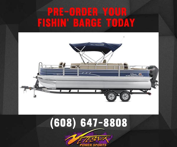 2022 Sun Tracker boat for sale, model of the boat is Fishin' Barge 22 DLX & Image # 1 of 18