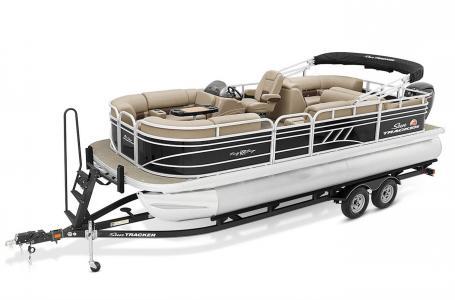 2021 Sun Tracker Party Barge 22 RF DLX thumbnail