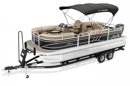 2021 Sun Tracker boat for sale, model of the boat is Party Barge 22 RF DLX & Image # 12 of 47