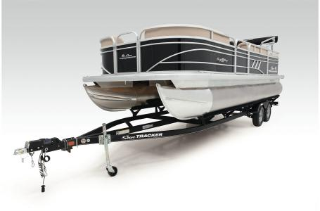 2021 Sun Tracker boat for sale, model of the boat is Party Barge 22 RF DLX & Image # 45 of 47