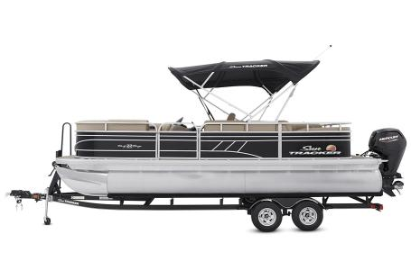 2021 Sun Tracker boat for sale, model of the boat is Party Barge 22 RF DLX & Image # 34 of 47