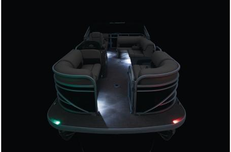 2021 Sun Tracker boat for sale, model of the boat is Party Barge 22 RF DLX & Image # 37 of 47