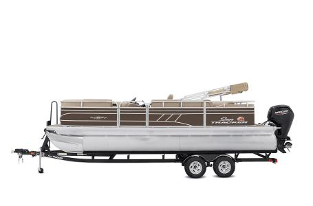2021 Sun Tracker boat for sale, model of the boat is Party Barge 22 RF DLX & Image # 7 of 47