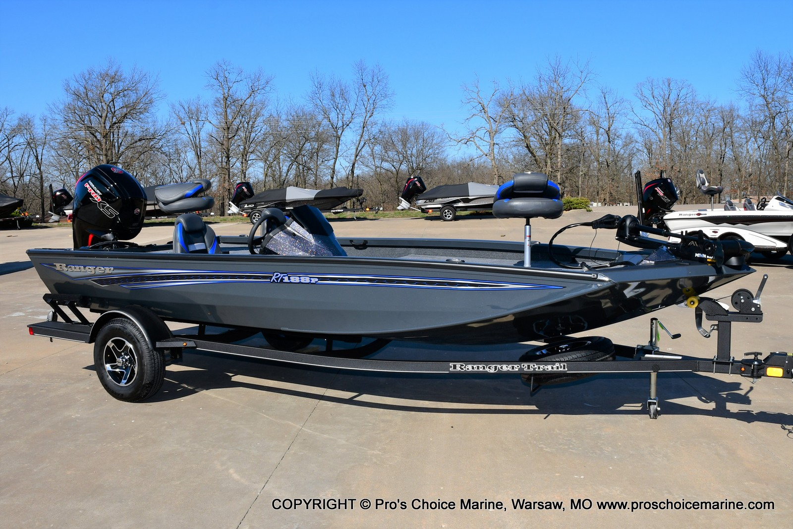 2021 Ranger Boats boat for sale, model of the boat is RT188P w/115HP Pro-XS Command Thrust & Image # 46 of 50