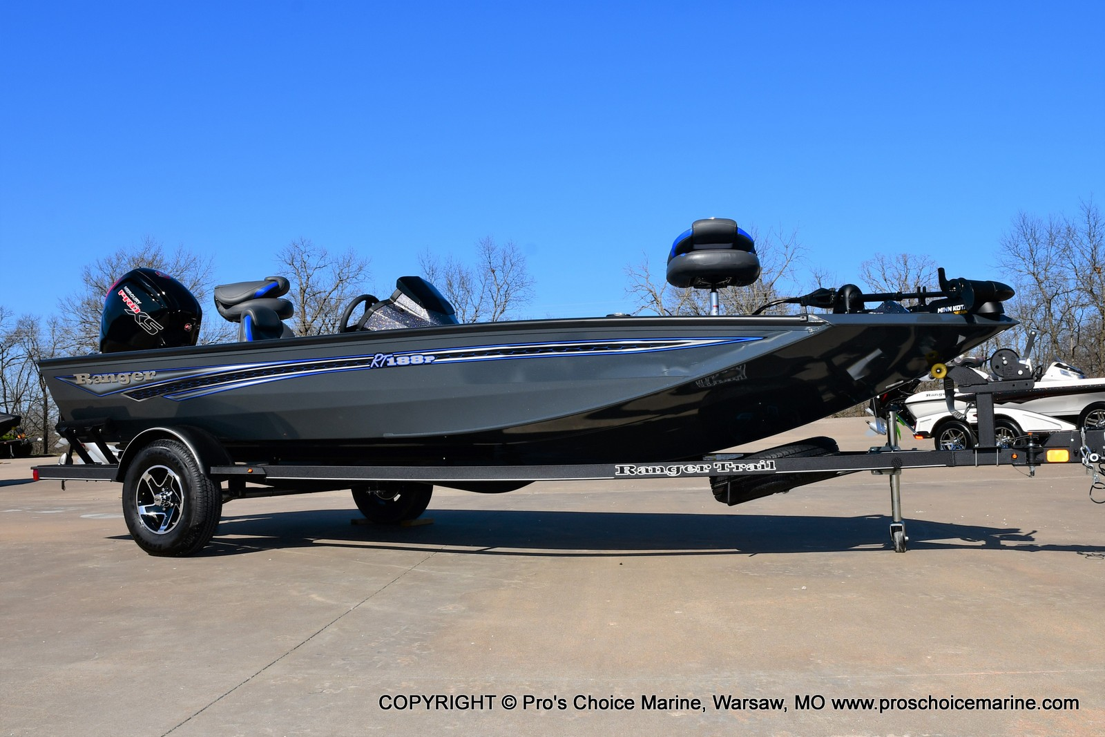 2021 Ranger Boats boat for sale, model of the boat is RT188P w/115HP Pro-XS Command Thrust & Image # 1 of 50