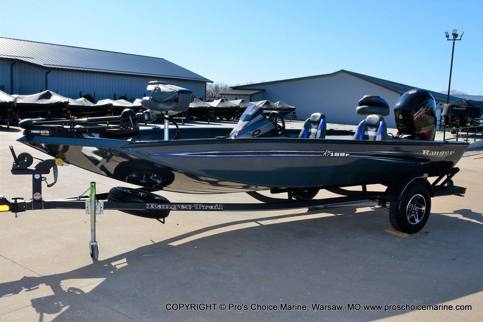 2021 Ranger Boats boat for sale, model of the boat is RT188P w/115HP Pro-XS Command Thrust & Image # 29 of 50