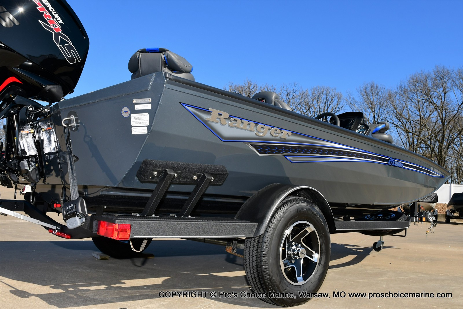 2021 Ranger Boats boat for sale, model of the boat is RT188P w/115HP Pro-XS Command Thrust & Image # 38 of 50