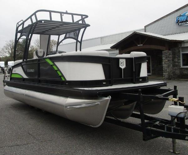 2020 Godfrey Pontoon boat for sale, model of the boat is MC 235 SD TT-27 & Image # 3 of 34