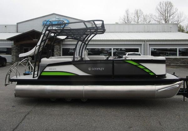 2020 Godfrey Pontoon boat for sale, model of the boat is MC 235 SD TT-27 & Image # 1 of 34
