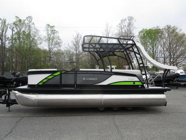 2020 Godfrey Pontoon boat for sale, model of the boat is MC 235 SD TT-27 & Image # 11 of 34