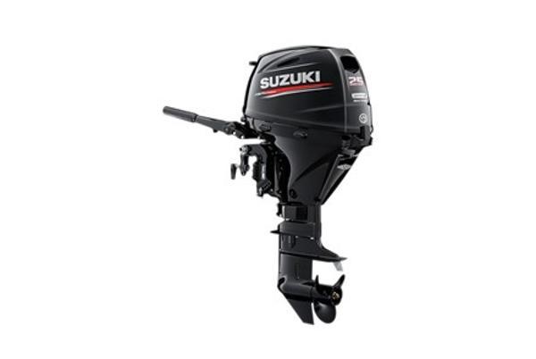 2021 SUZUKI 25 HP electric start 4-stroke 15inch shaft image