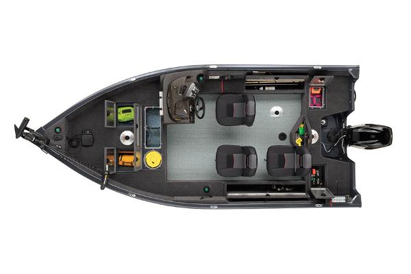 2022 Tracker Boats boat for sale, model of the boat is Pro Guide V16 & Image # 4 of 5
