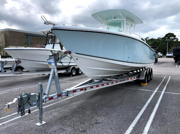2020 Mako boat for sale, model of the boat is 284 CC & Image # 1 of 59