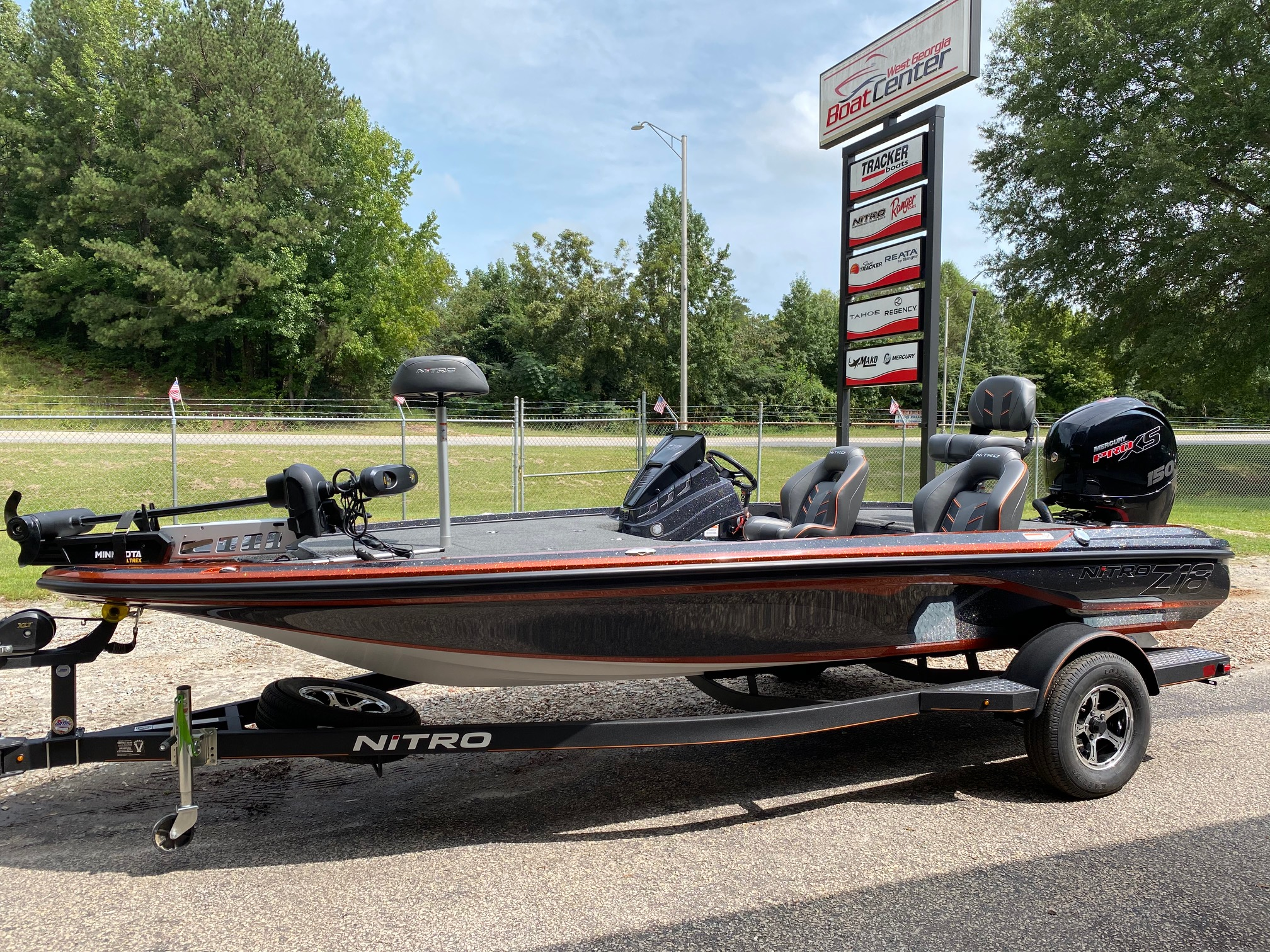 2021 Nitro boat for sale, model of the boat is Z18 W/150L PXS4 & Image # 1 of 47