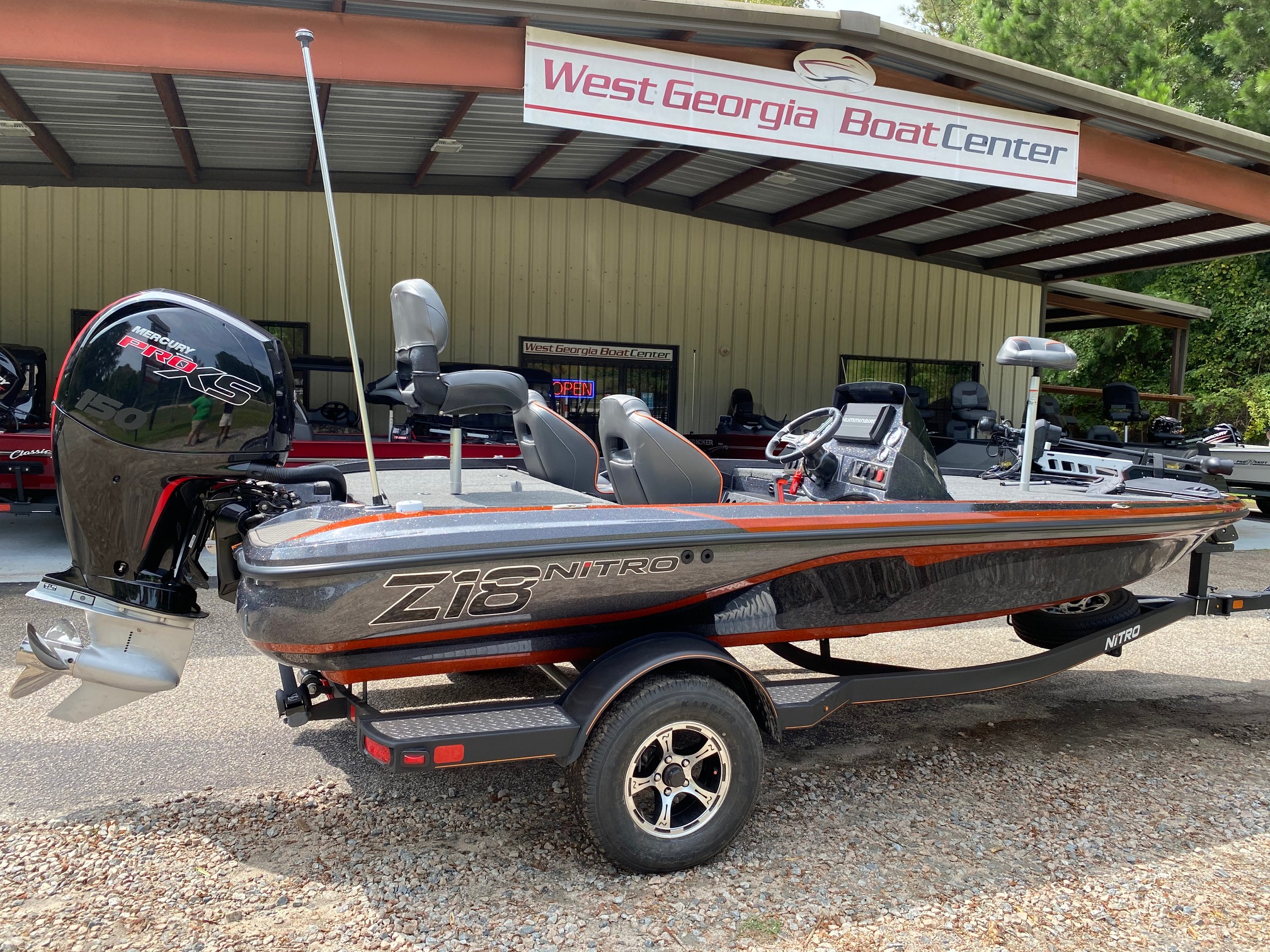 2021 Nitro boat for sale, model of the boat is Z18 W/150L PXS4 & Image # 10 of 47