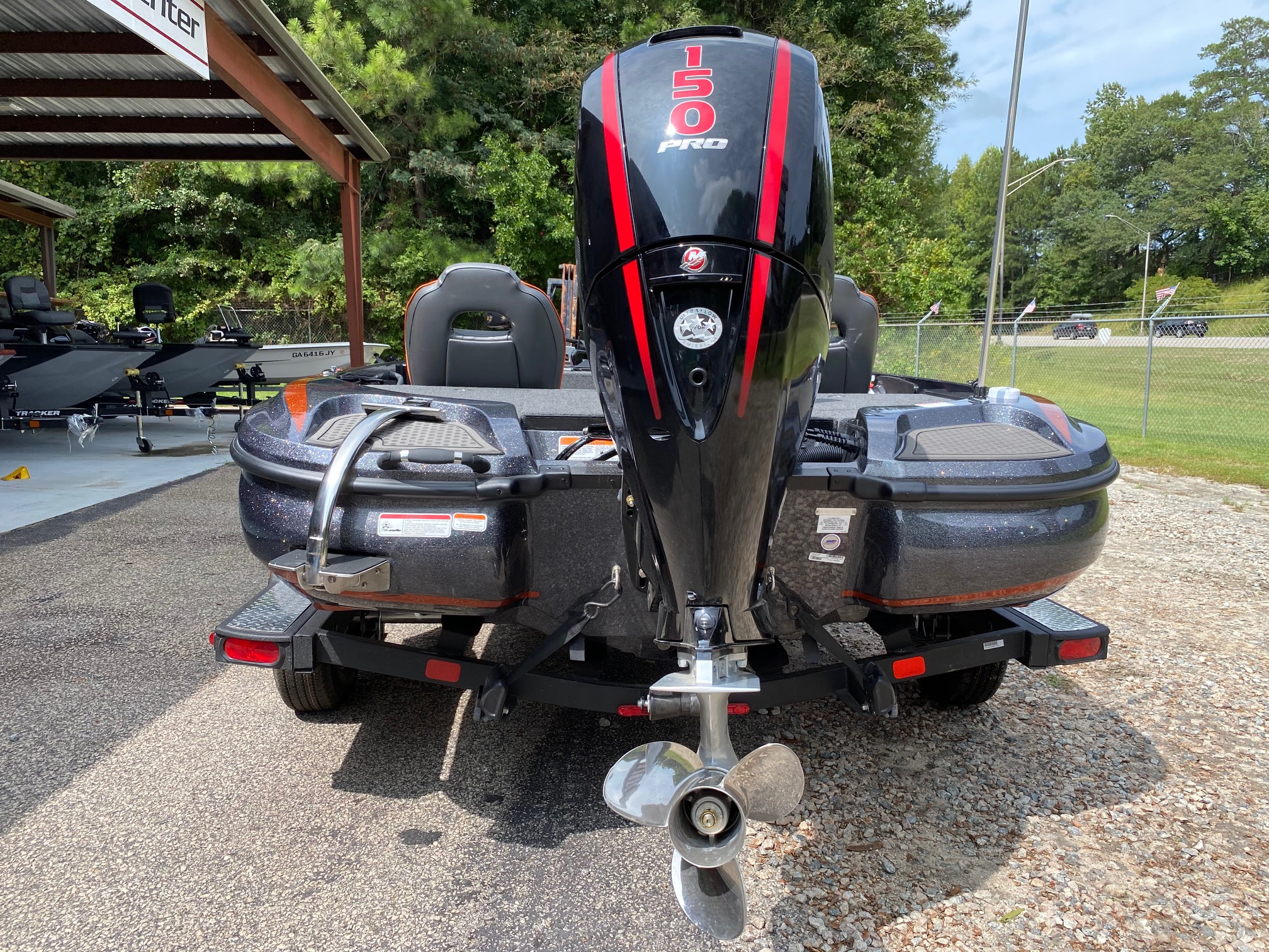 2021 Nitro boat for sale, model of the boat is Z18 W/150L PXS4 & Image # 19 of 47