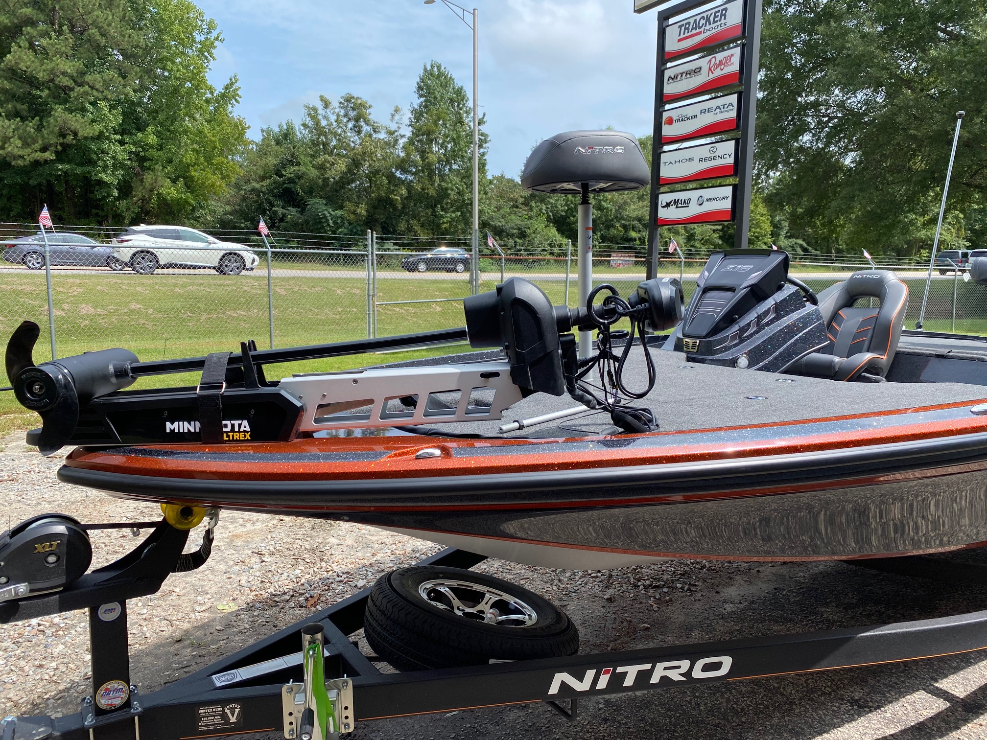 2021 Nitro boat for sale, model of the boat is Z18 W/150L PXS4 & Image # 32 of 47