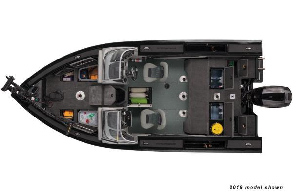 2020 Tracker Boats boat for sale, model of the boat is Targa V-19 Combo Tournament Edition & Image # 4 of 5