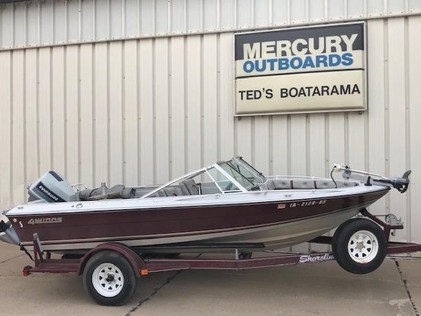 1984 FOUR WINNS 16' FISH & SKI for sale