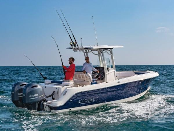 2021 Robalo boat for sale, model of the boat is R242 & Image # 2 of 6