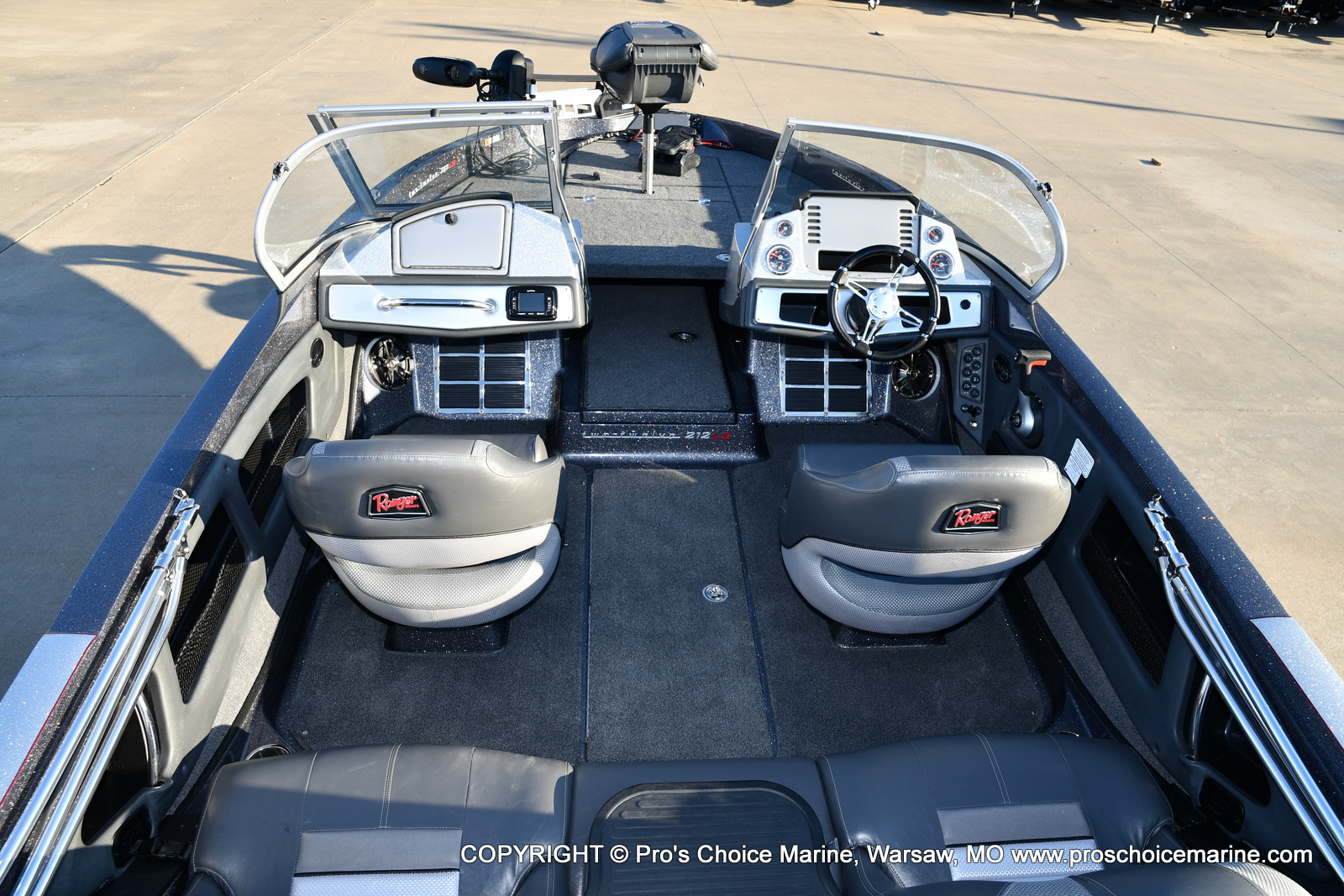 2021 Ranger Boats boat for sale, model of the boat is 212LS & Image # 44 of 50