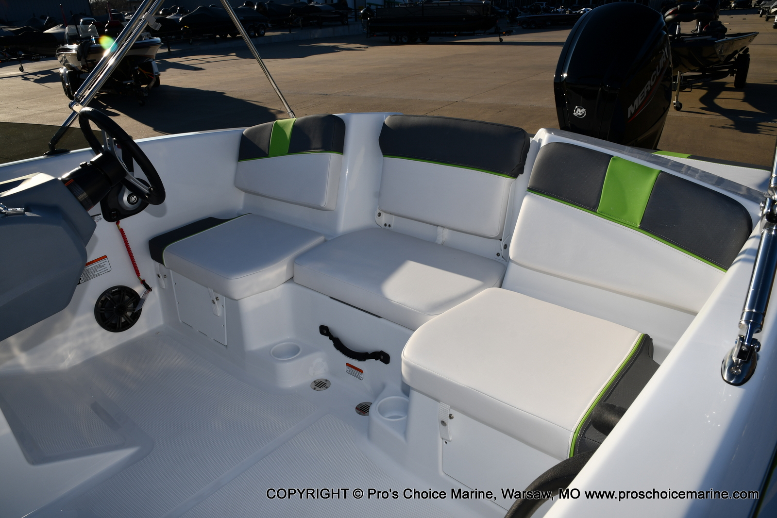 2021 Tahoe boat for sale, model of the boat is T16 w/75HP Mercury 4 Stroke & Image # 11 of 45